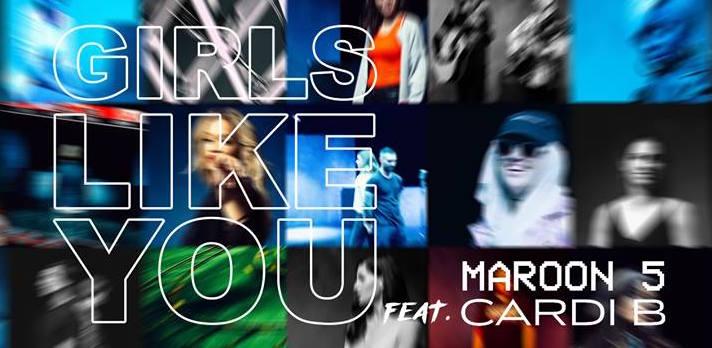 Maroon 5 - Girls Like You ft. Cardi B (Volume 2) 11