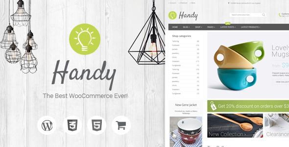 [Giveaway] Handy - Handmade Shop WordPress WooCommerce Theme 5