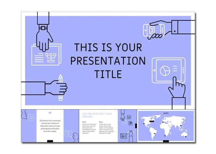 mẫu slide powerpoint đẹp miễn phí 1