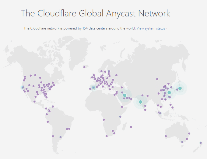 Cloudflare-Data-Centers