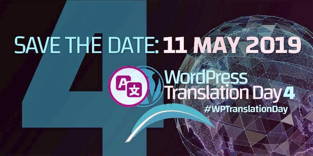 Global WordPress Translation Day Lần 4 sẽ được tổ chức vào ngày 11/05/2019 1