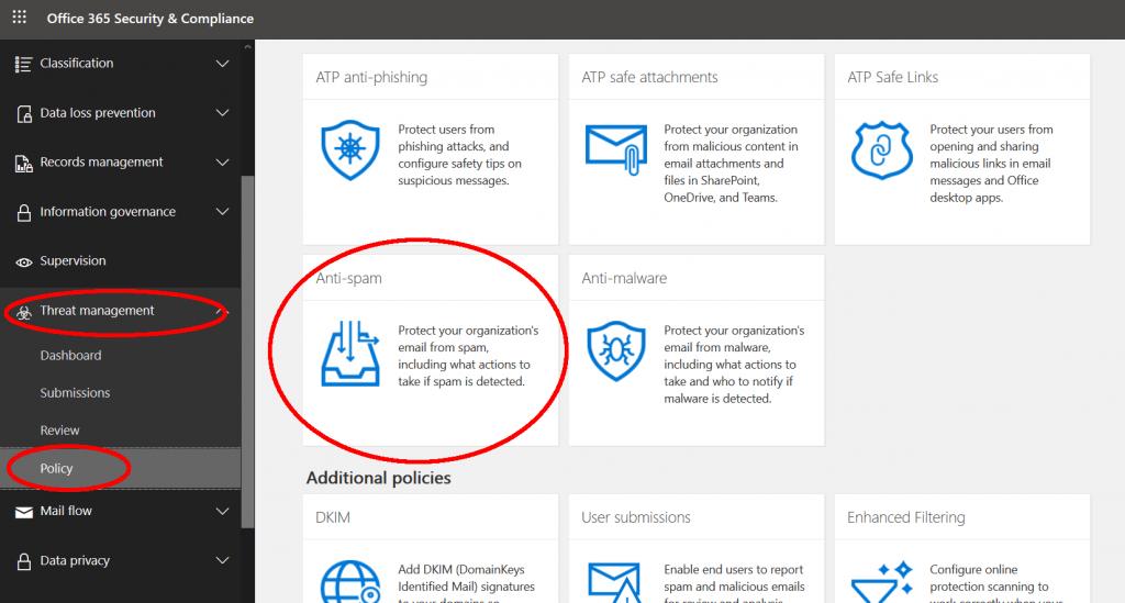Office 365 External Mail Forwarding